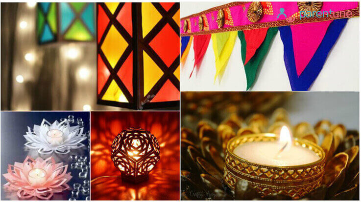 diy decoration ideas for diwali parentune com