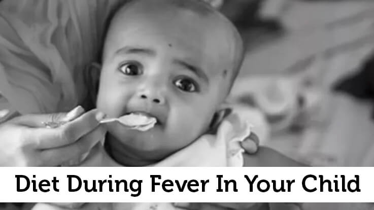 Diet During Fever In Your Child