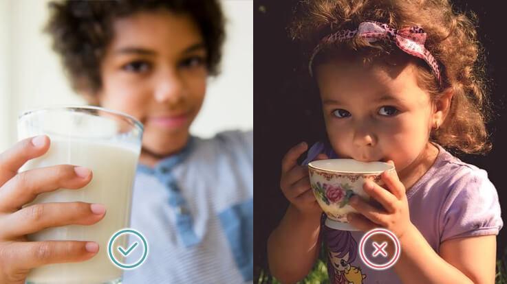 दूध से दुश्मनी और चाय से दोस्ती बच्चों के लिए अच्छी बात नहीं