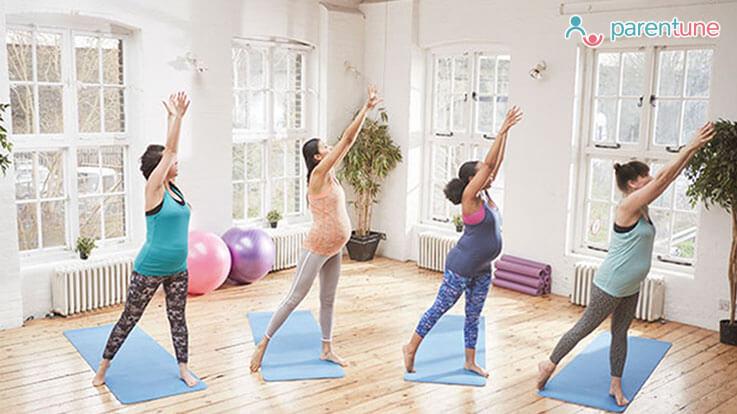 गर्भधारणा दरम्यान व्यायाम आणि योग फायदे