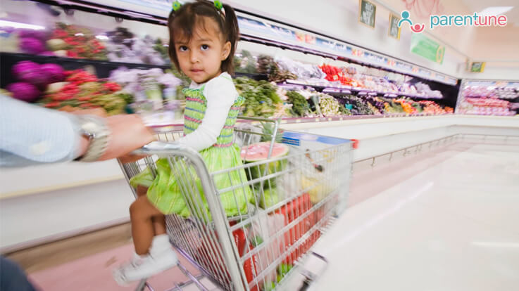 Grocery shopping and your child all you need to know