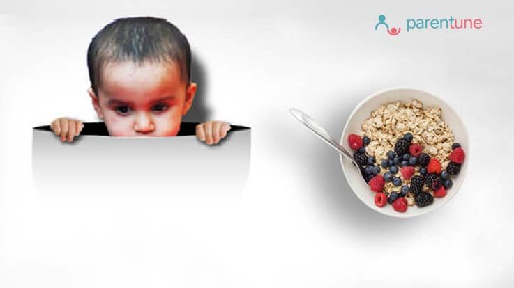 Health Benefits Of Oats For Babies