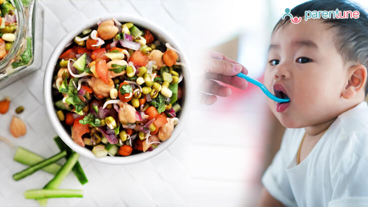 Health Benefits of Bean Sprouts As a Meal for Toddlers