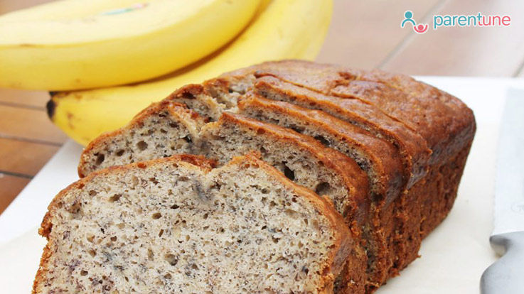 Healthy Banana Bread Recipe For Your Child