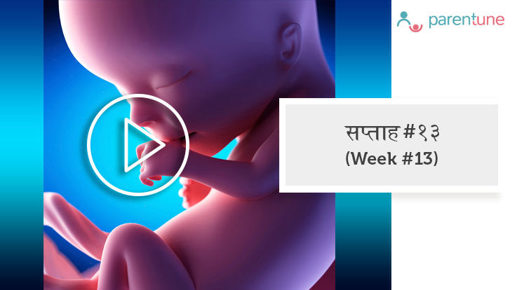 गर्भावस्था का 13वां सप्ताह
