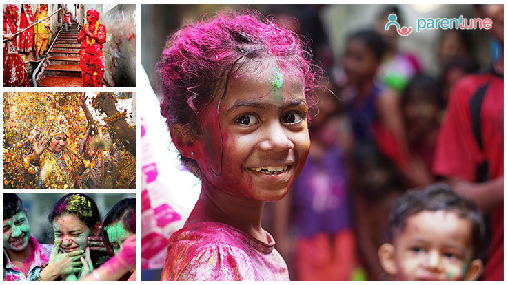 How Is Holi Celebrated In Different Parts Of India