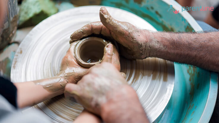 How to Introduce The Art Of Pottery to Your Childrens