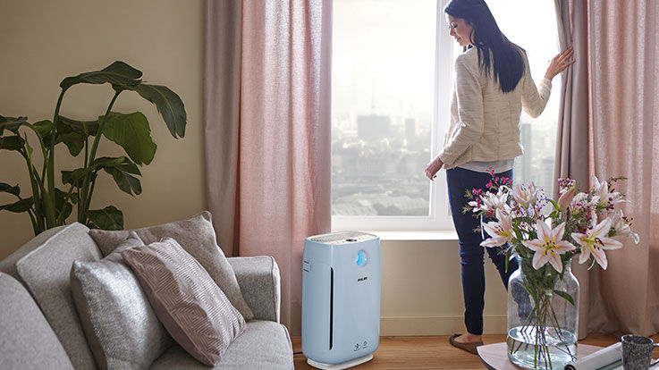 How clean indoor air helps lungs to relax