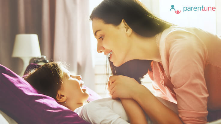 How happy mornings have positive impact on your child