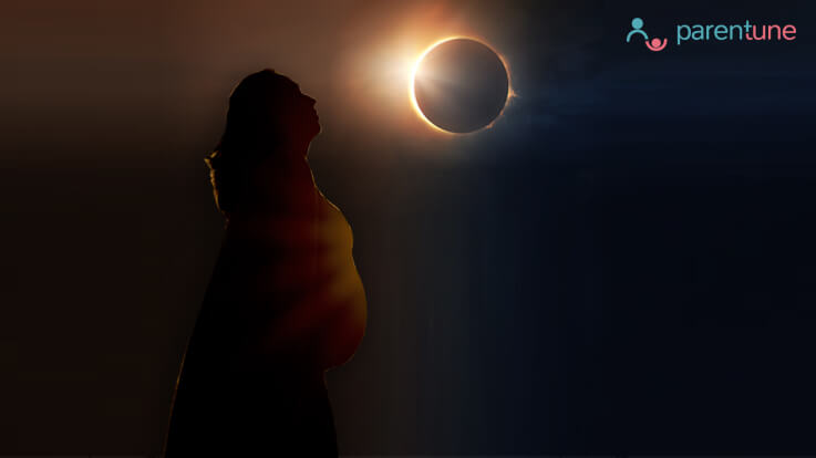 How the eclipse affected my pregnancy