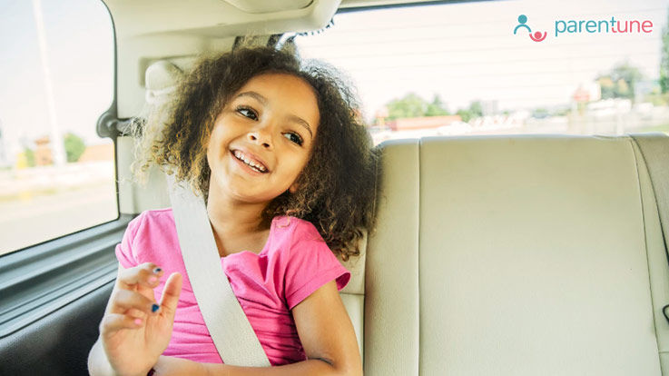 How to Keep Kids Safe but Entertained in The Car on Long Journeys