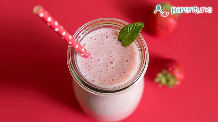 Indian Milkshake Recipes For Your Child