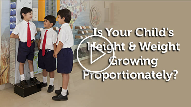Is Your Child Height Weight Growing Proportionately