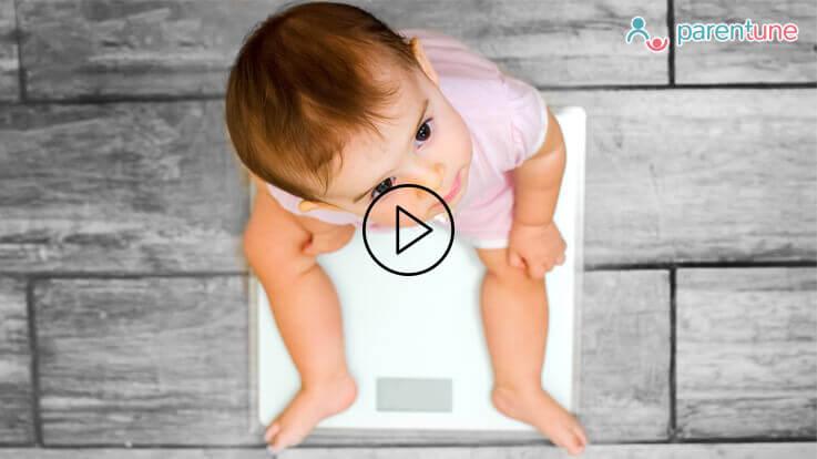 कैसे करें बच्चों के वजन में बढ़ोत्तरी