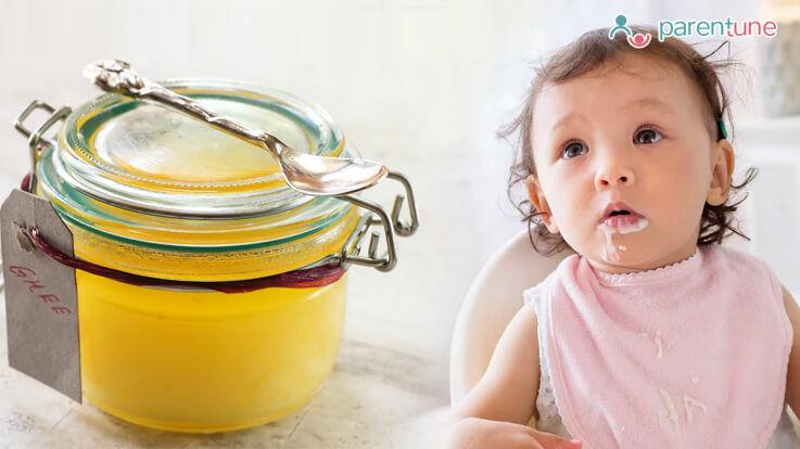 कितना घी उचित है आपके बच्चे के लिए गर्मियों में