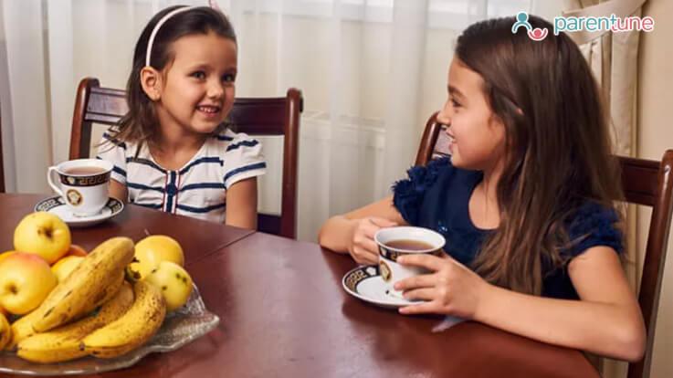 क्या आपके बच्चे को चाय पीने की आदत डालनी चाहिए
