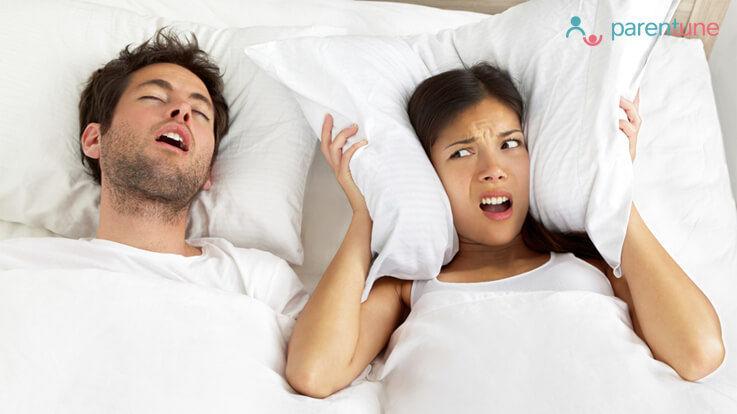 क्या आपके पति खर्राटा लेते है तो इसे पढिये