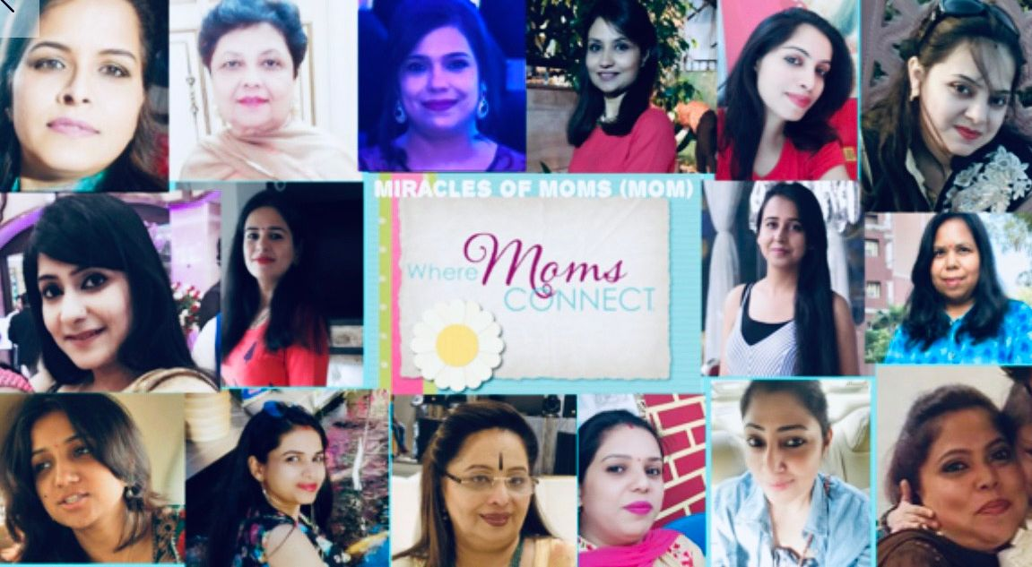 Moms get together for fun n learn