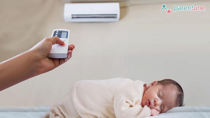 नवजात शिशु को एसी में रखना कितना सुरक्षित