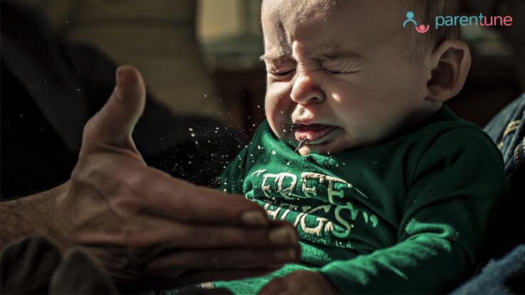 नवजात शिशु को हो जाए सर्दी खांसी तो ये उपाय जरूर करें
