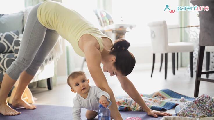 नवजात शिशुओं की मां को ये योगासन करने से मिलेगा बहुत लाभ