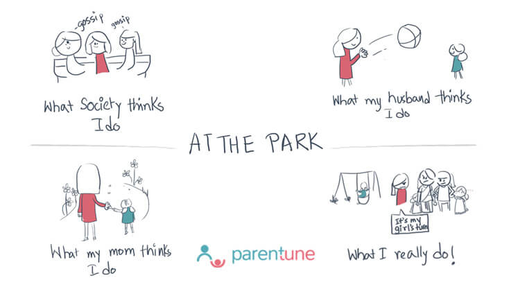 Parentoon At the park