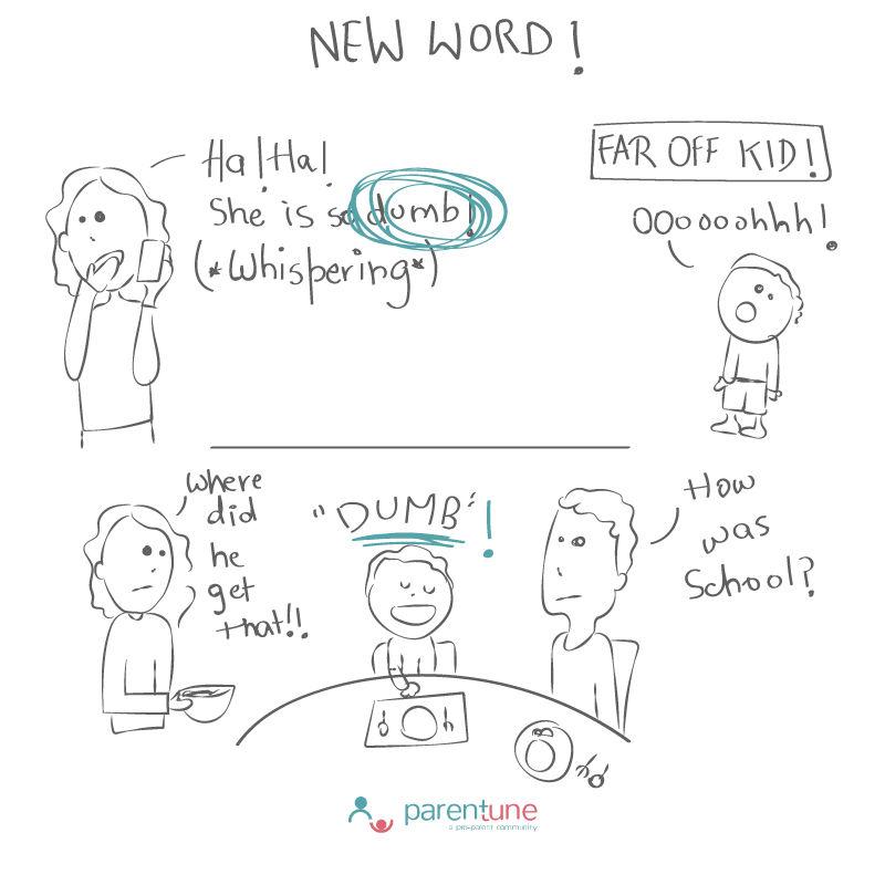 Parentoon New Word