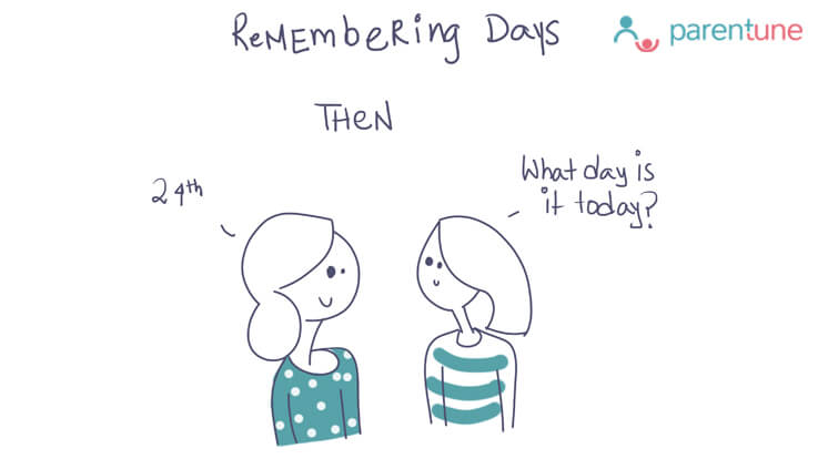 Parentoon Remembering days