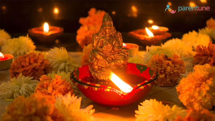 Passing on the traditionlet your child why we celebrate Diwali