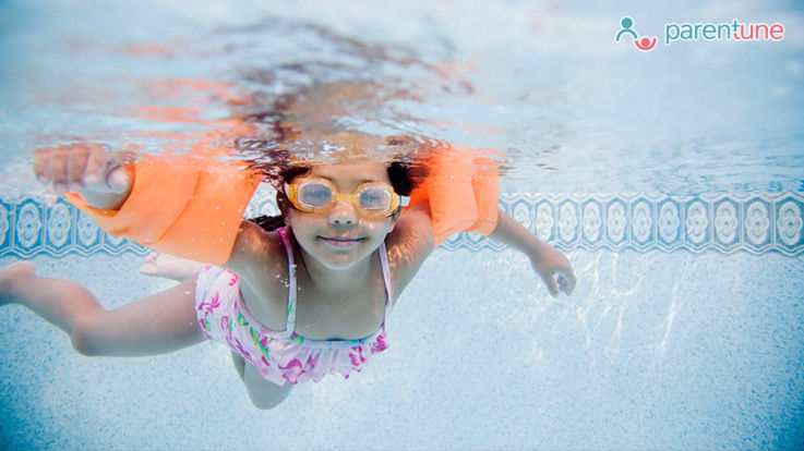 How To Protect Childs Skin From Pool Water Chemicals What To Care Before After Swimming