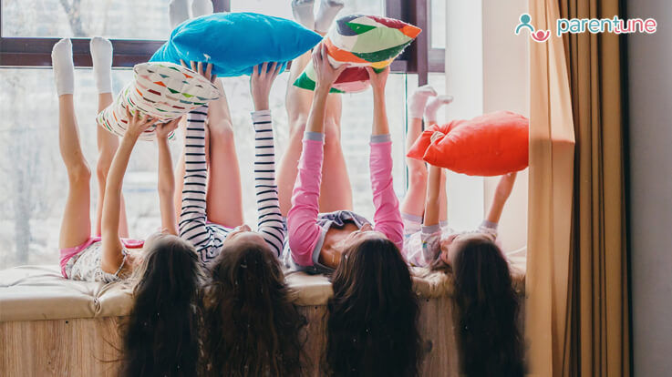 Sleepover Party Games For Your Tween