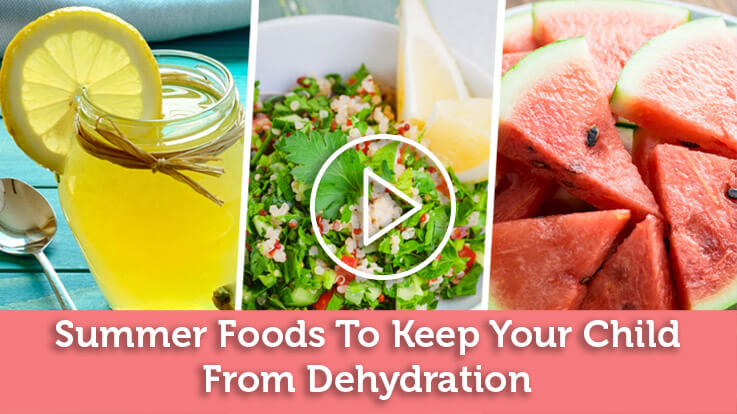 Summer Foods to Keep Your Child Cool or Hydrated