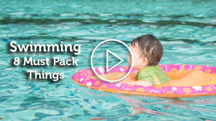 Swimming 8 Must Pack Things
