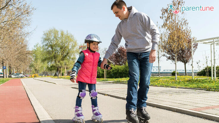Teach Skating To Your Child Step By Step Guide