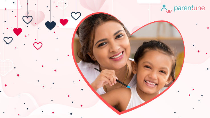 VDay With Your Child A Moms Story On Her Best Valentines Gift Ever
