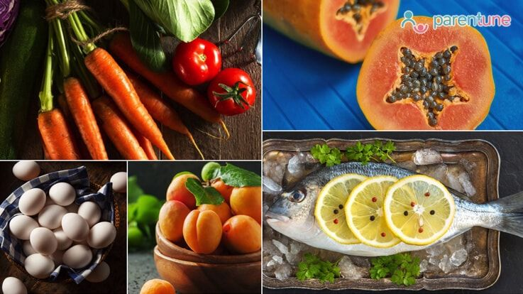 7 Foods Fruits to Improve Childs Eyesight in Winter