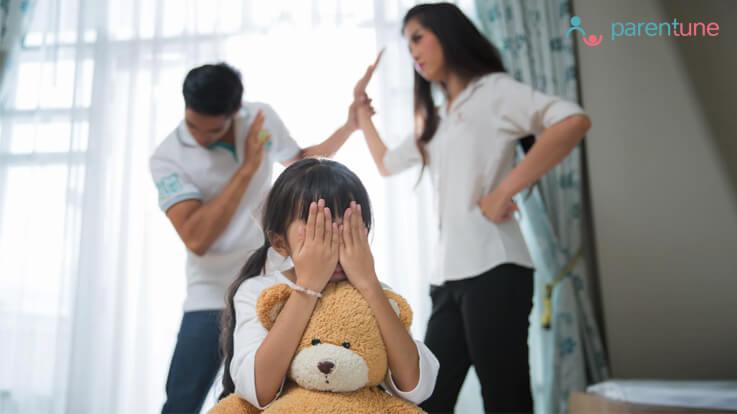 यह बातें सुनिश्चित करें ताकि पति पत्नी के बीच अनबन से न हो बच्चे को नुकसान