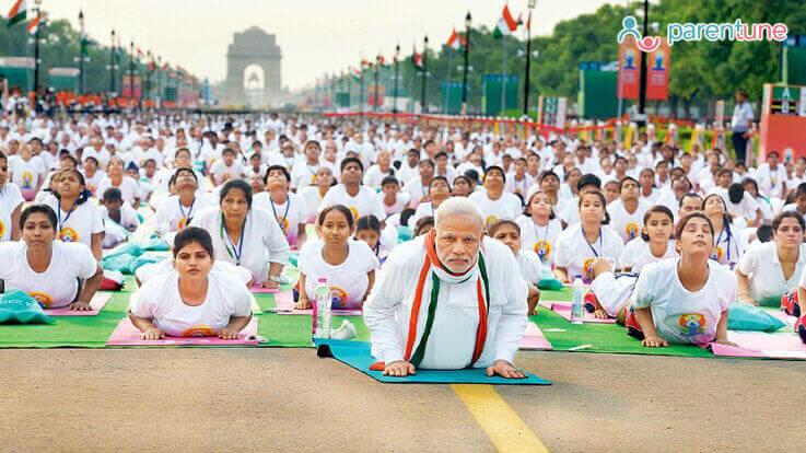 भारत के योगयात्रा की कहानी आप अपने बच्चे के साथ जरूर शेयर करें