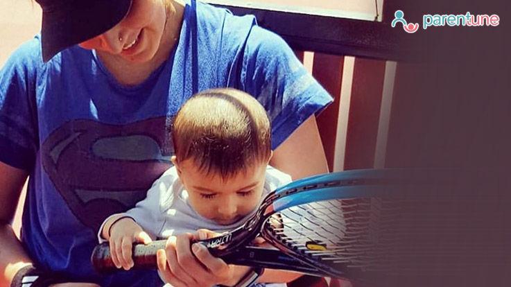 मां बनने के बाद पहली बार टेनिस कोर्ट पर वापस लौटीं सानिया मिर्जा
