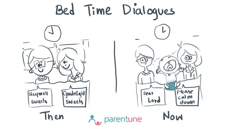 parentoon Bed time dialogues