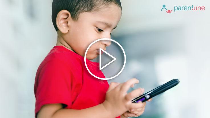 बच्चे के मोबाइल देखने की आदत को कुछ इस तरह छुड़वाए
