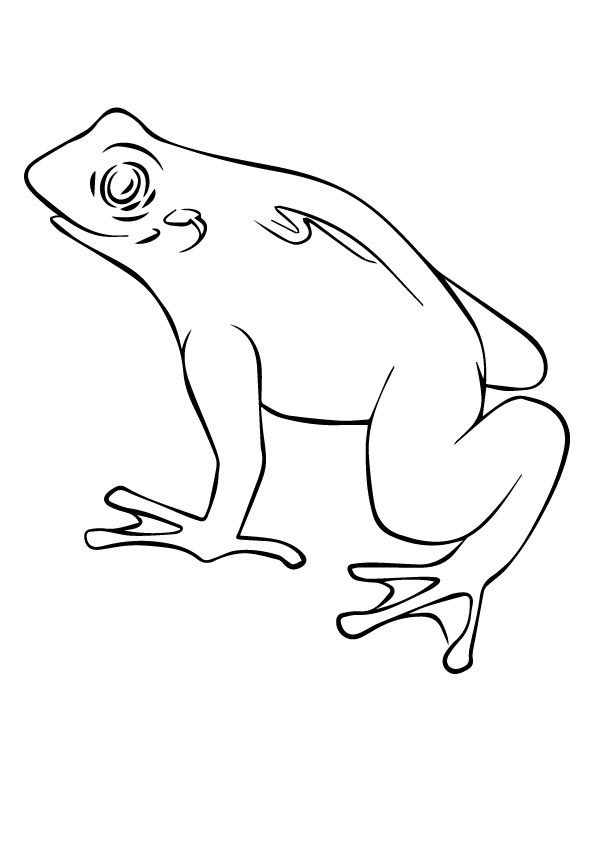 Horned Pac Frog coloring pages