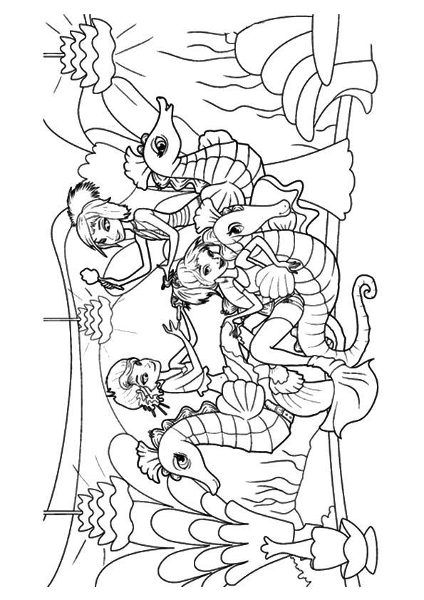 Mermaids & Seahorses