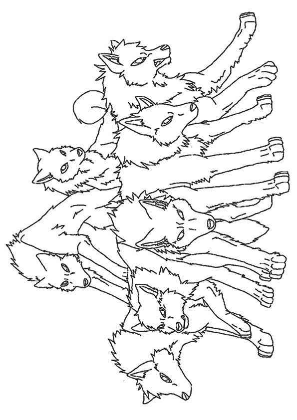 - Parentune - Free Printable Wolf Coloring Pages, Wolf Coloring Pictures For  Preschoolers, Kids