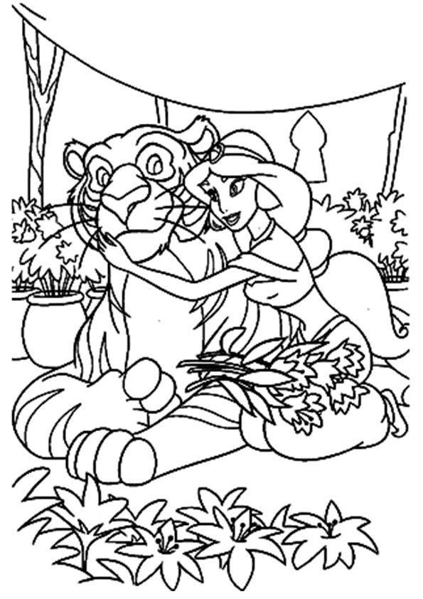 Abu Aladdin coloring pages