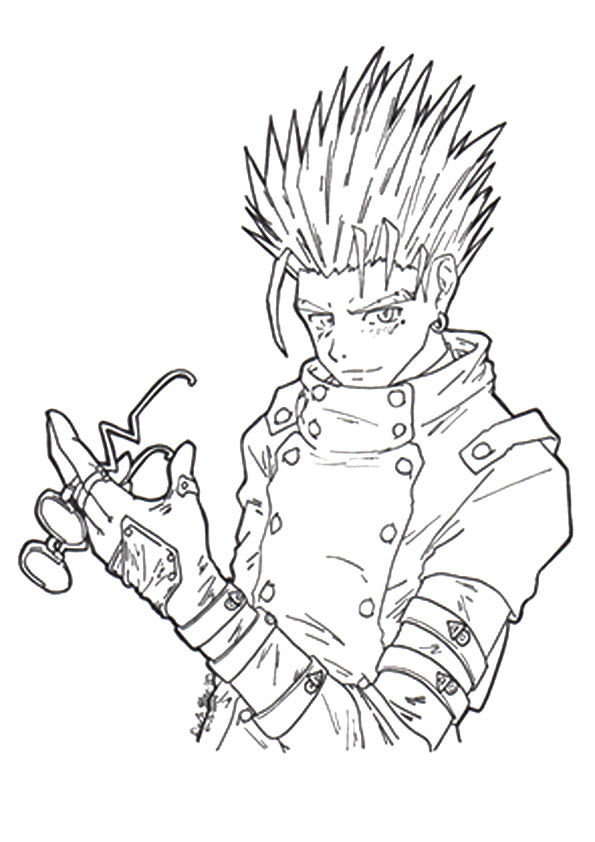 anime 10 coloring pages