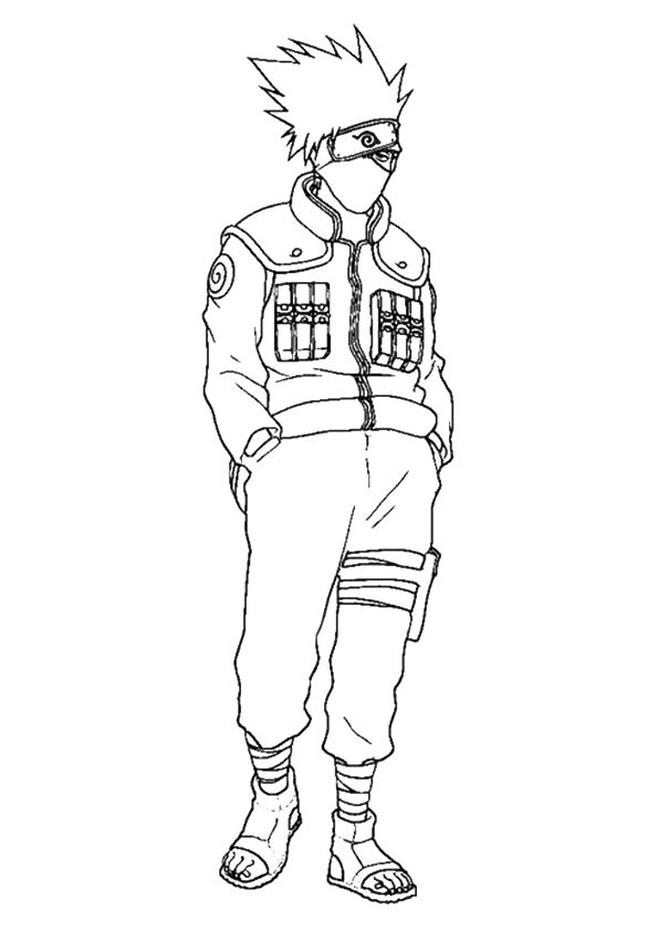anime 7 coloring pages