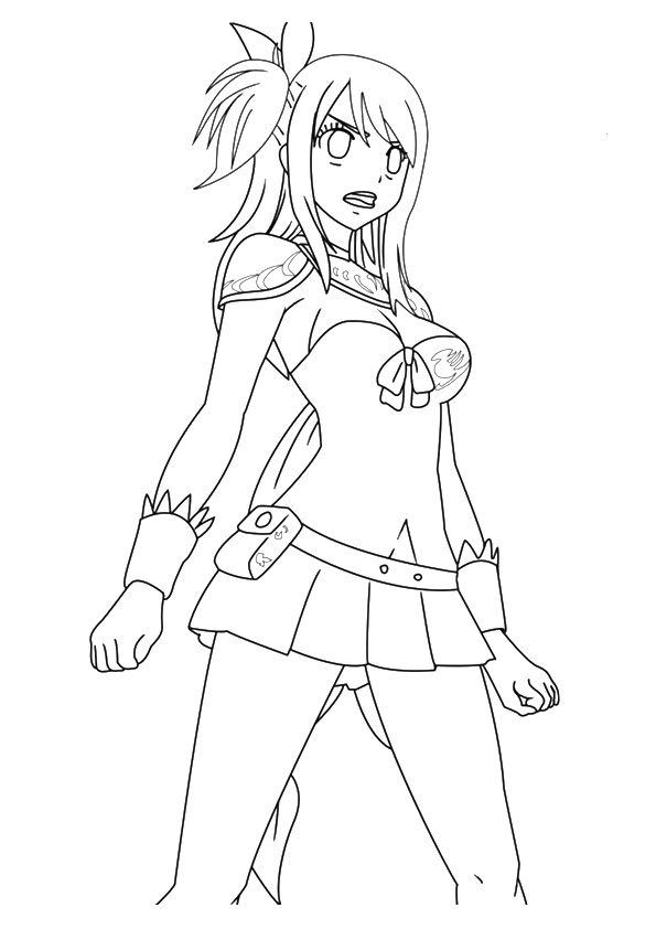 anime 8 coloring pages