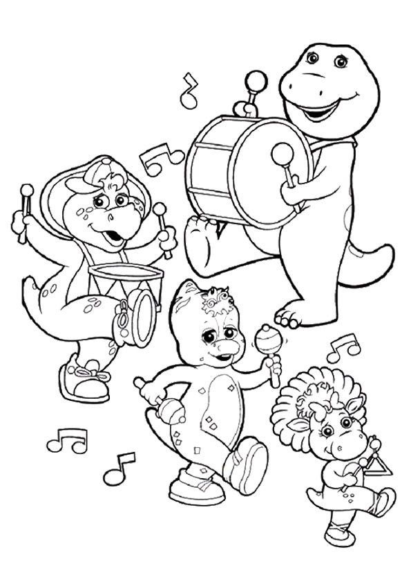 BJ Gang coloring pages