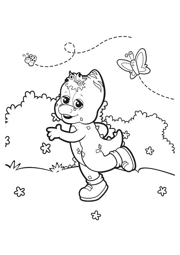 The Riff coloring pages